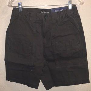 NWT Mens Croft & Barrow Elastic Cargo Shorts Sz 30